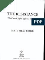 Matthew Cobb, The Resistance, Bibliography