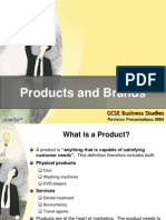 Products and Brands