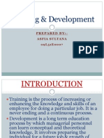 Training Development PPT