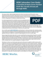 HERC Works Dual-Career Case Study