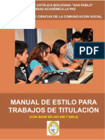 Manual de Estilo, Version 16 de Agosto de 2011