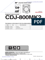 pioneer cdj 800mk2 service laser electrical connector rh scribd com Pioneer CDJ 800 MK1 pioneer cdj 800 mk2 service manual pdf