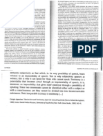Giorgio Agamben, The Archive and Testimony(1)