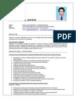 Resume - Faisal Javaid