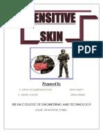 Sensitive Skin Abstract
