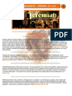 Puntos Sobresalientes - Jeremias 22 a 24