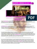 Puntos Sobresalientes - Jeremias 32 a 34