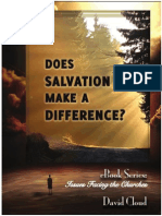 Does Salvation Make a Difference