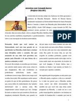 Fernando Barros - Cadernos Da CASa
