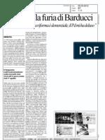 La Repubblica - Ed. Firenze - 02.03.2012 - Province, La Furia Di Barducci