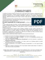 ENCONTRAR EL TRATAMIENTO Y PROFESIONAL CORRECTO