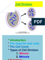 1. Cell Division--2.Structure of Chromosomes--3.Principles of Genetics