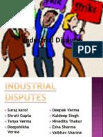 Industrial Dispute Presentation