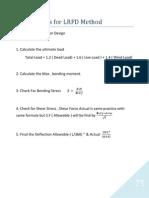 13- Design Stepts for LRFD - - STEEL STRUCTURES
