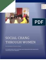 Women Empowerment Program of Farz Foundation