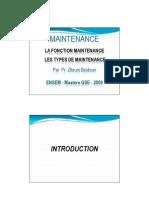 Chap 1 Fonction maintenance - Types de maintenance [Mode de compatibilité]