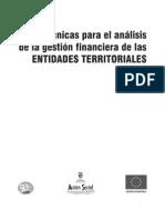 Técnicas para el análisis de la gestión financiera de las entidades territoriales
