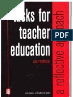 Tasks for Teacher Education-Reflective Approach