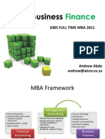 Session 1 Slides - Intro to Business Finance