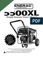 Generac 5500XL