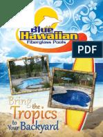 Blue Hawaiian Fiberglass Pools 2012 Catalog