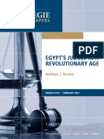 Egypt's Judges in a Revolutionary Age