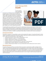 The Role of Occupational Therapy With  Children and Youth