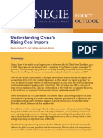 Understanding China's Rising Coal Imports