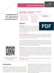 Problems in the management of the appendiceal carcinoid tumors.