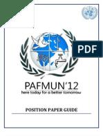 Web-Position Paper Guide