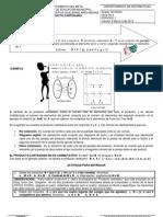 Guía 4 Producto cartesiano y relaciones matemáticas