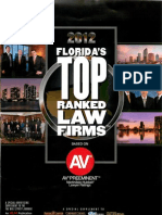 2012 Florida's Top Ranked Law Firms