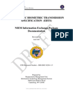 FBI Electronic Biometric Transmission Specification