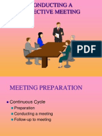 Efficient Meeting PPT