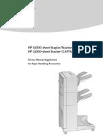 HP 3000 Sheet Stacker Service Manual