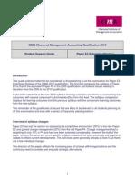 CIMA F6 (E3) Business Strategy Syllabus