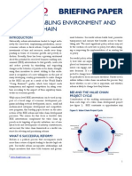 Business Enabling Environment Briefing Paper