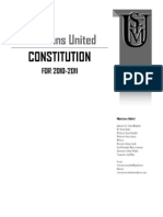 Constitution of the Musicians United Student Organization