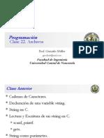Clase Programacion 22