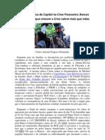 Carlos Antonio Fragoso Guimarães discorre sobre a estranha lógica do Capital na Crise Financeira Global