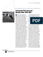 Pennsylvania Dairy Farms and Marcellus Shale, 2007–2010 published by the Penn State Extension, March 2012