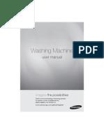 Samsung Washing Machine [WA80U3] Manual