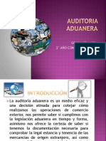 Auditoria Aduanera