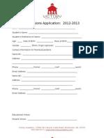 Application 2012