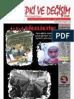 Tepki ve Değişim Dergisi - 42. sayı yayında!