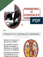 FRANCISCO GONZÁLEZ GAMARRA CON MUSICA