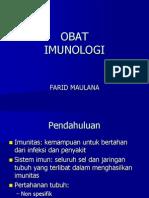 OBAT IMUNOLOGI
