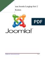 Panduan Joomla Lengkap Pengaturan Konten