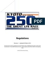 2012 Kyoto 250 Rules Book