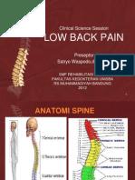 Rehabilitasi Low Back Pain